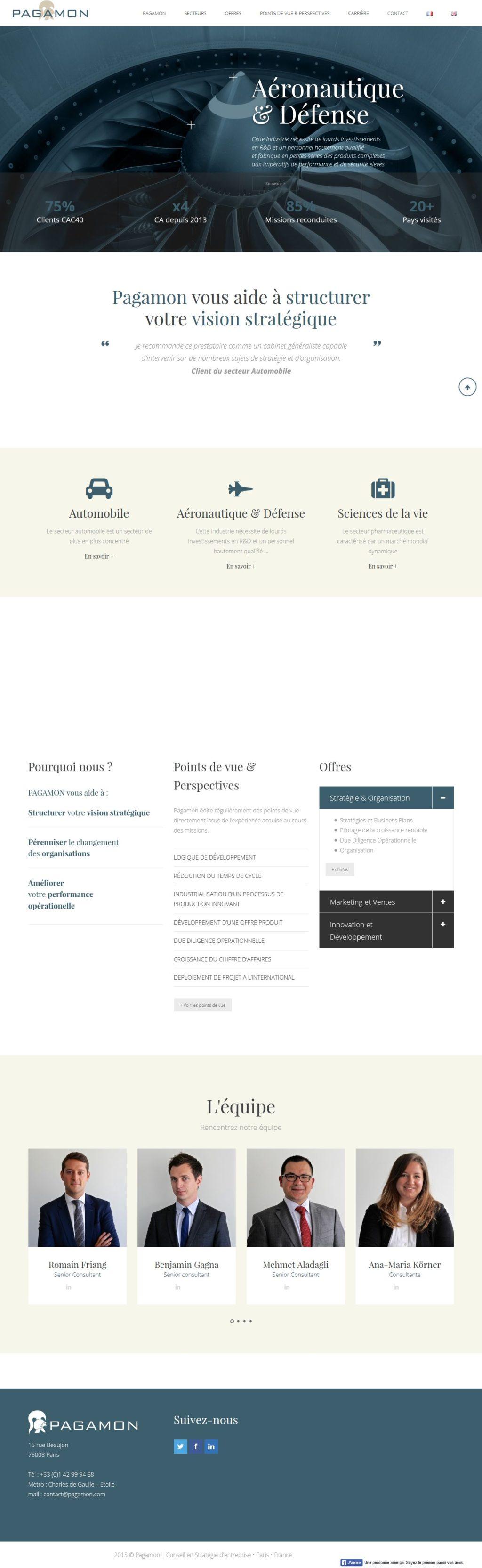 LXN-Laurent NOTTE-PAGAMON • cabinet de conseil en stratégie et organisation' – www_pagamon_com