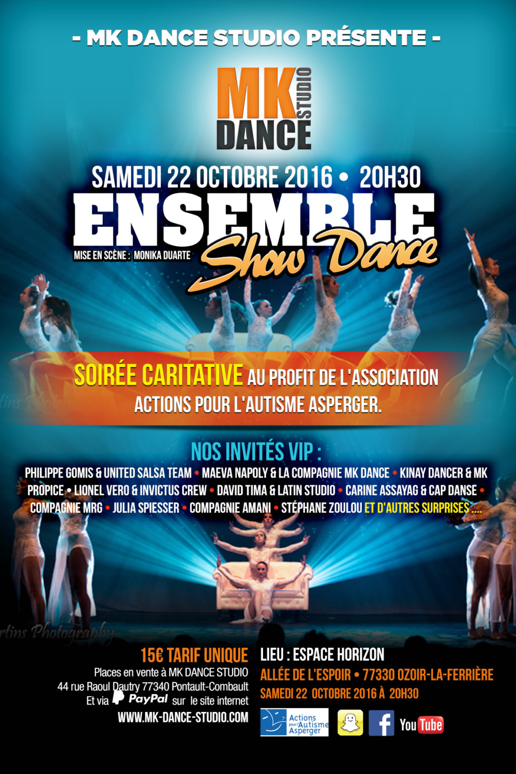 Agence de Publicité - écoles de danses - PARIS - CHELLES - LAGNY - Marne la vallée