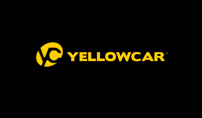 Logo Garagiste Branding Yellowcar Black