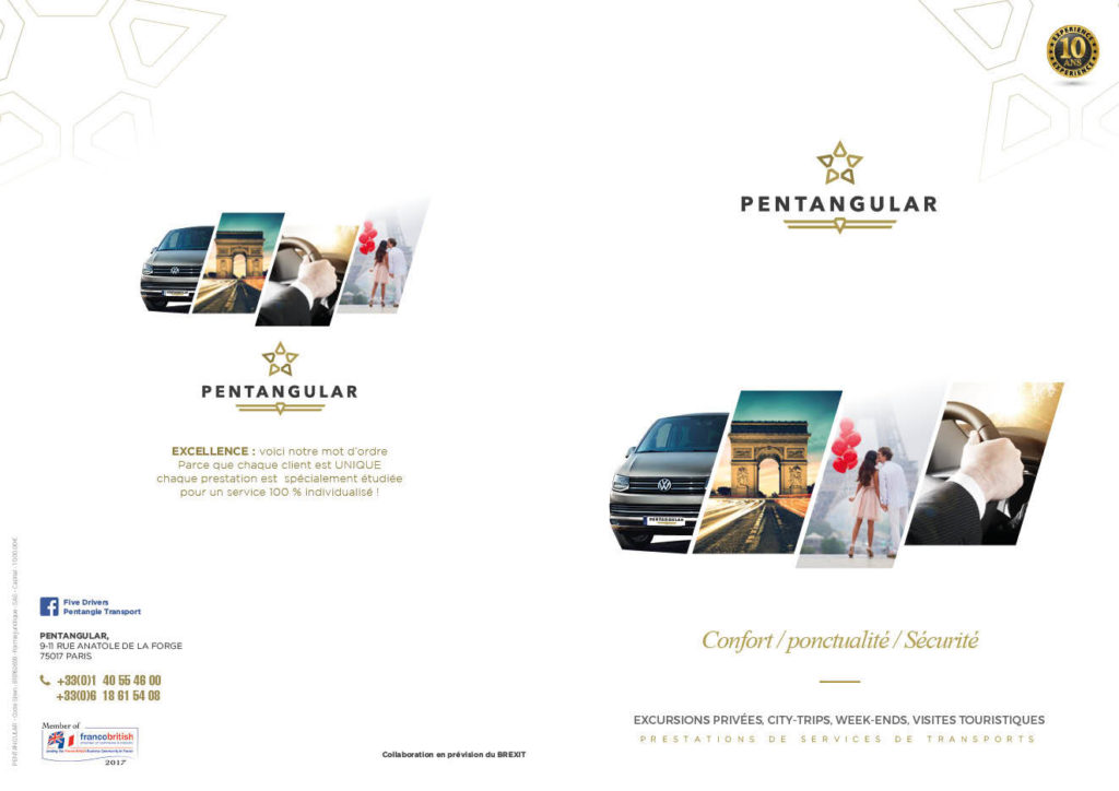 Plaquette Pentagular 2e3