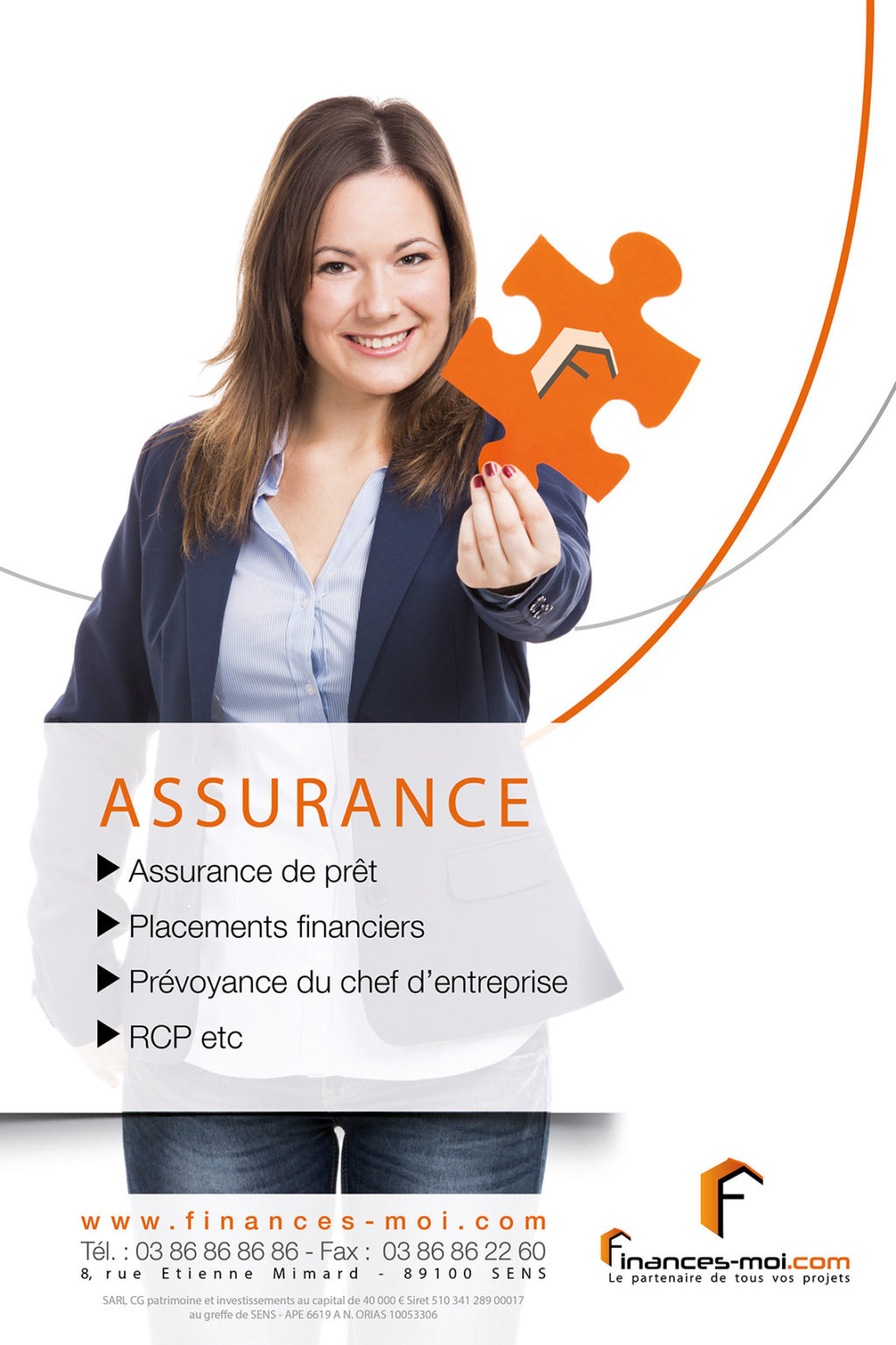 affiche FINANCE MOI – Assurances