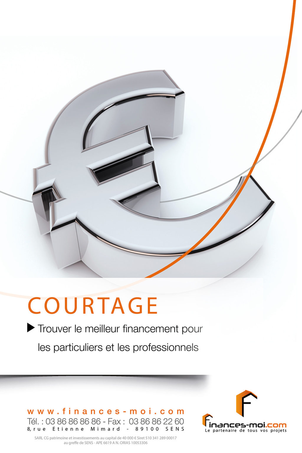 affiche FINANCE MOI – Courtage